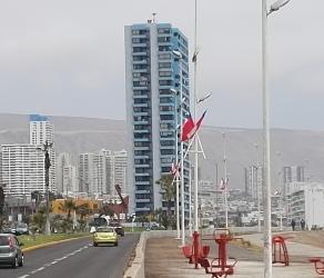 Departamento frente al mar, tres domitorios, Sector Sur de Iquique